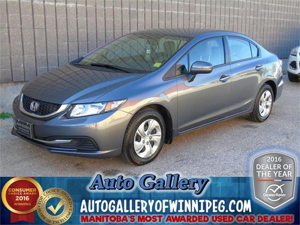 2014 Honda Civic Sedan LX*Htd. Seats