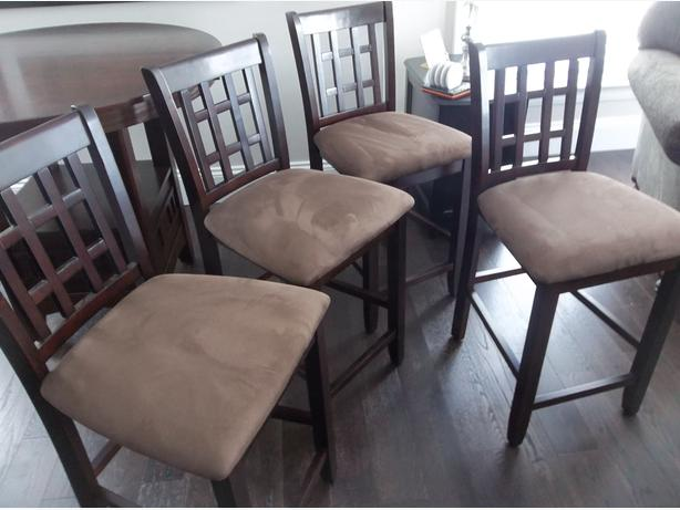 Counter Height Chairs (4) - BRAND NEW