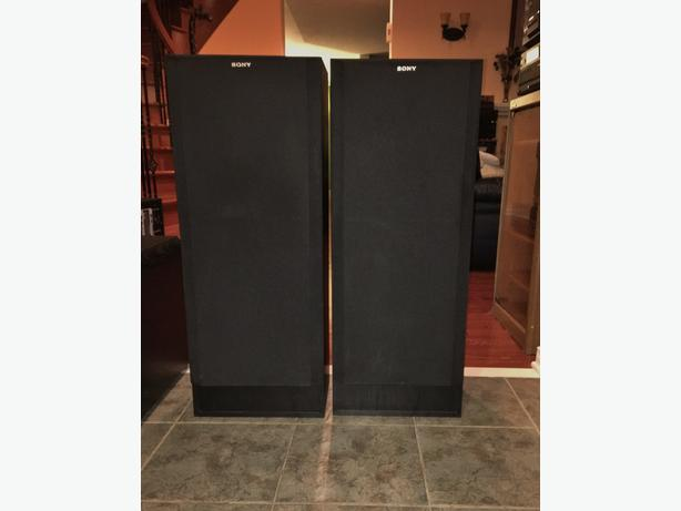 Sony 3-Way Tower Speakers	SS-C415