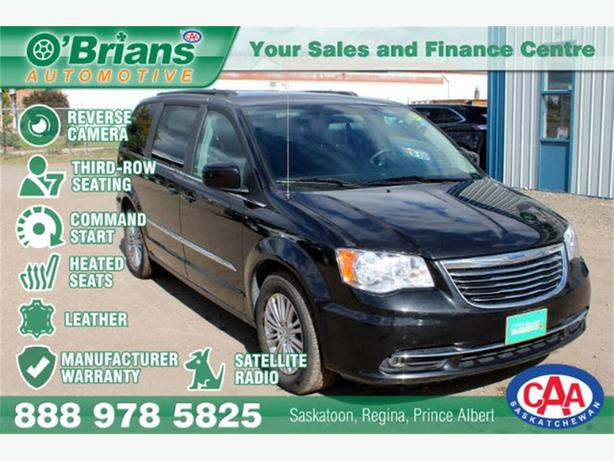 2016 Chrysler Town & Country Touring-L - LEATHER CMD STRT HTD SEATS WARRANTY