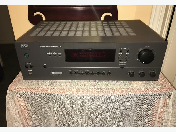 High Quality NAD 50 WPC AVR w/ PhonoAV 713
