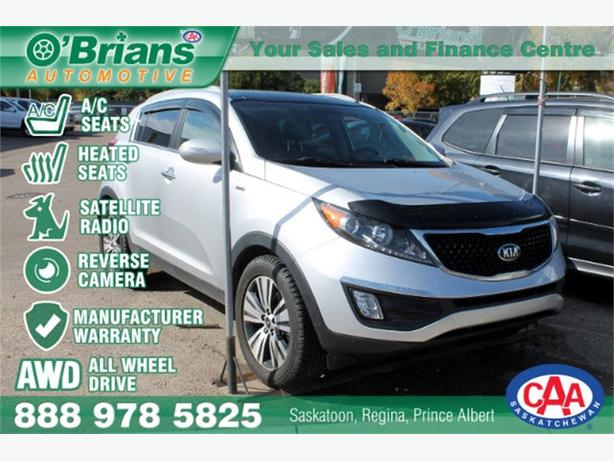 2015 Kia Sportage EX - AWD HTD/AC SEATS LEATHER WARRANTY