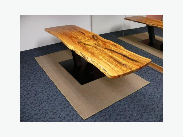 large live edge 10ft long board room tables