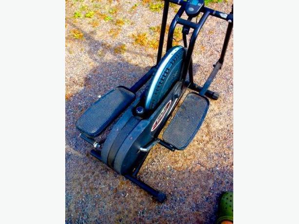 Body flux compact elliptical trainer