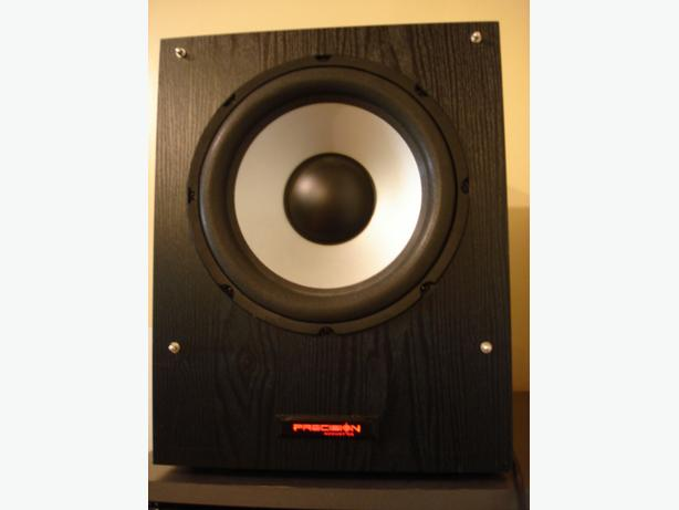 "Precision Acoustics HDS-10 10"" 150-Watt Powered Subwoofer"