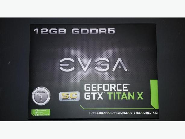 EVGA TITAN X 12GB SC EDITION