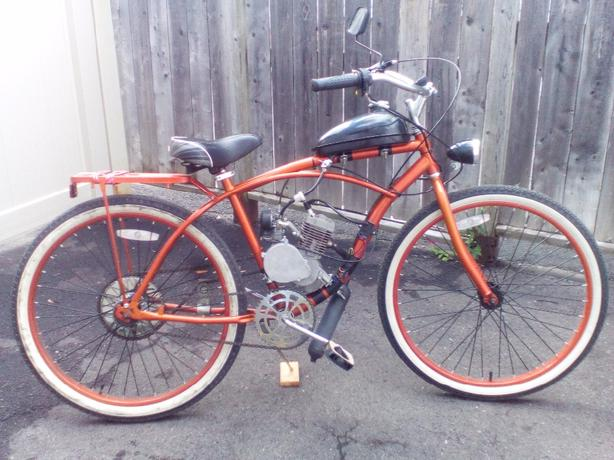 motorized bicycle 48cc