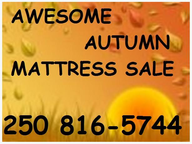 Celebrate Autumn on a Brand New Awesome Bed