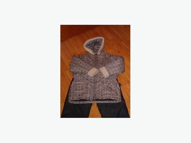 snowsuit jacket and pants , size 10 , child,