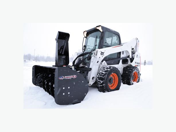 SKID STEER SNOW BLOWER