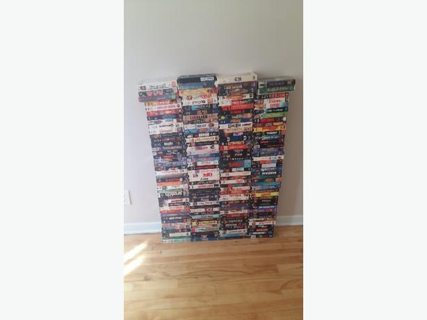 vhs movies , vcr included