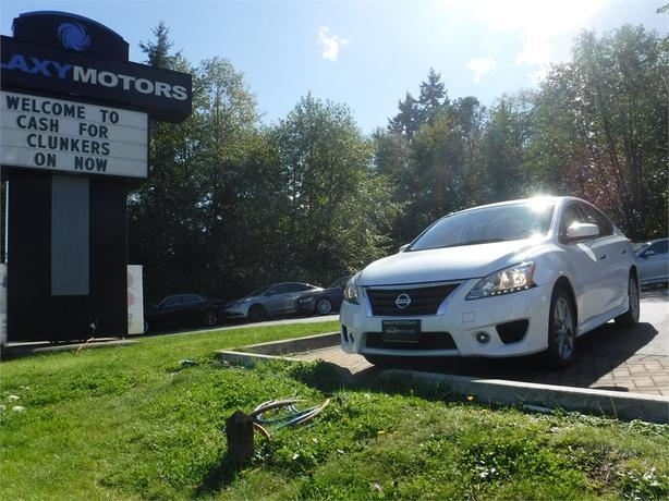 2014 Nissan Sentra SR - Navigation, Pwr Moonroof, Alloy Wheels