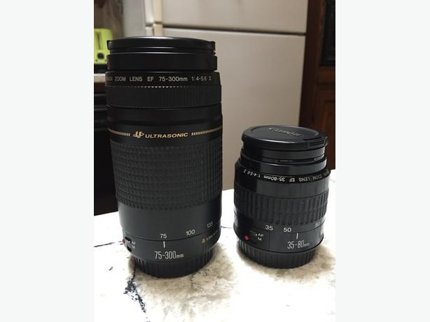 Canon Zoom lens package