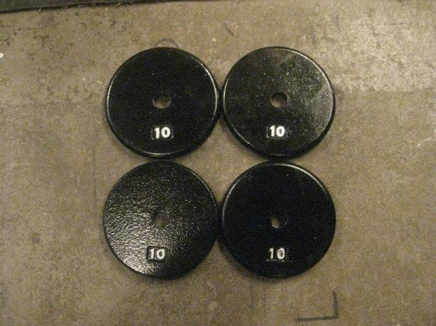 WANT TO TRADE : 4-10 LB for 8-5 LB PLATES