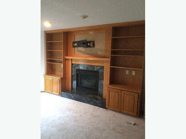 FREE Oak Wall Unit And Cabinets East Regina Regina