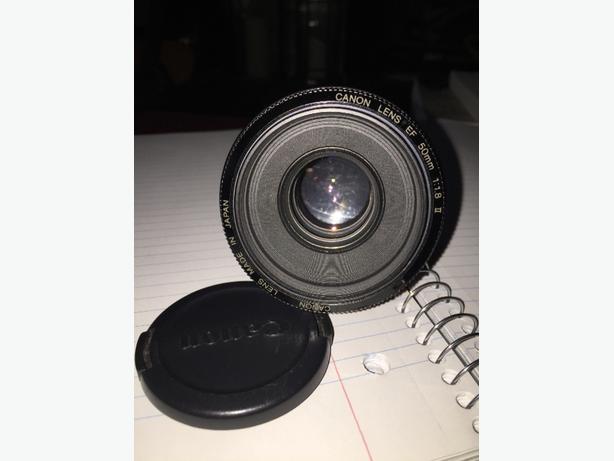 Canon EF  50mm 1:1.8 ll