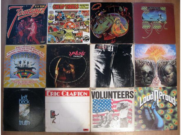 Classic Rock Vinyl LP Records - Just the Good Stuff