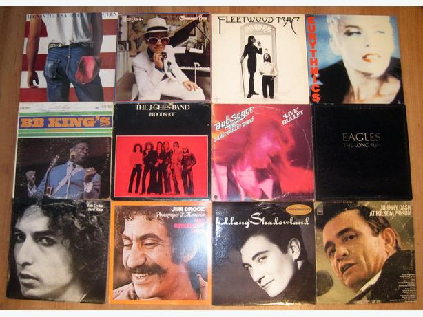 Nice Selection of Popular Favorites Classic Vinyl LP Records