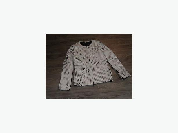 jacket evening by obstinee , size 12 .