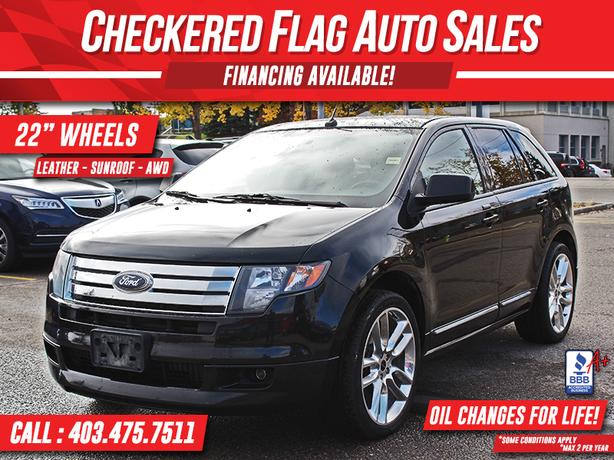 2010 Ford Edge SPORT AWD-NAVI-PANO ROOF-ALL SERVICE RECORDS