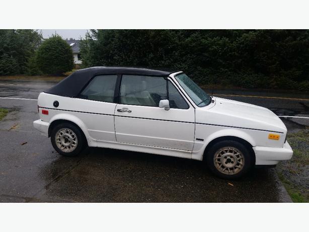 1990 VW Cabriolet