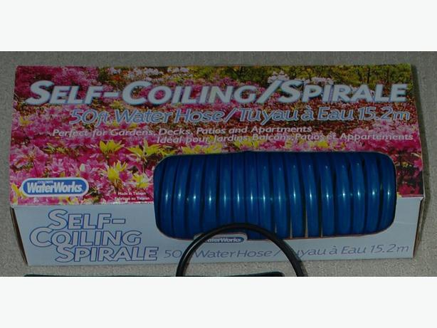 50' Self-coiling Garden Hose In Original Box For Sale