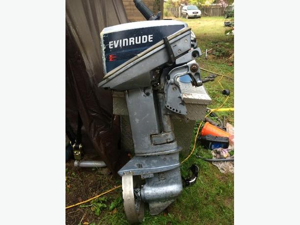 85 Evinrude 9.9 Short Shaft 2 Stroke