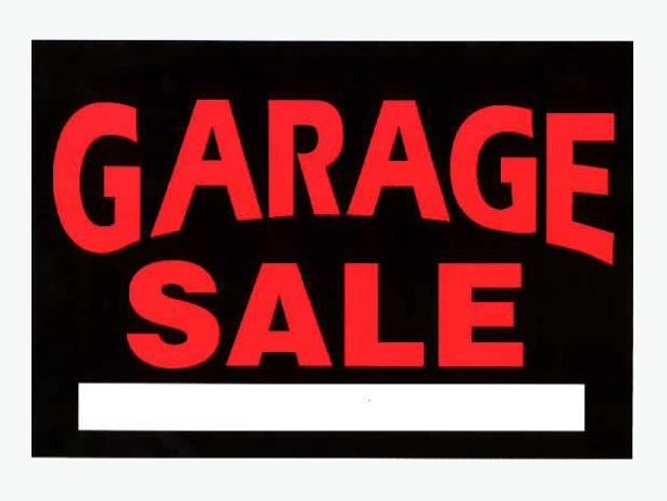 Garage Sale Saturday Sept 24