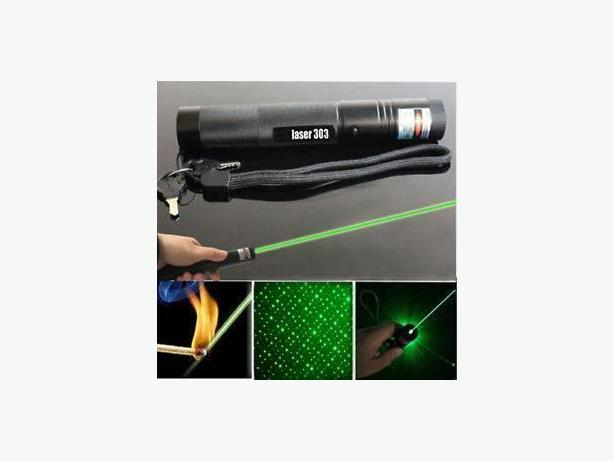 Very very powerful green laser pointer