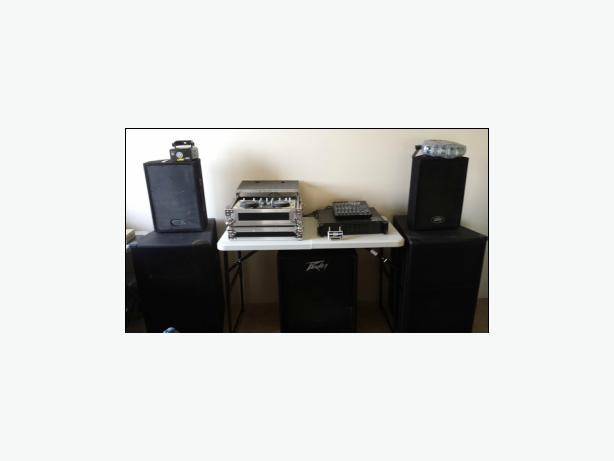 DJ Company closing, Speakers For Sale