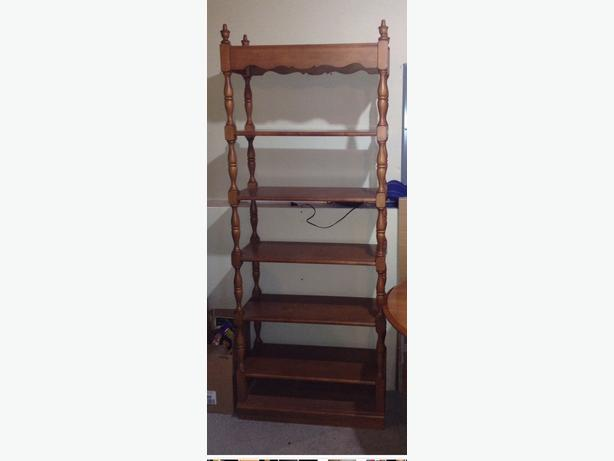 $125.00 Maple Bookcase