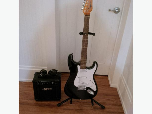 Mega Electric Guitar with accessories