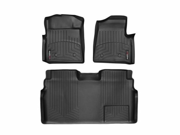 Weathertech custom front and rear floor liner