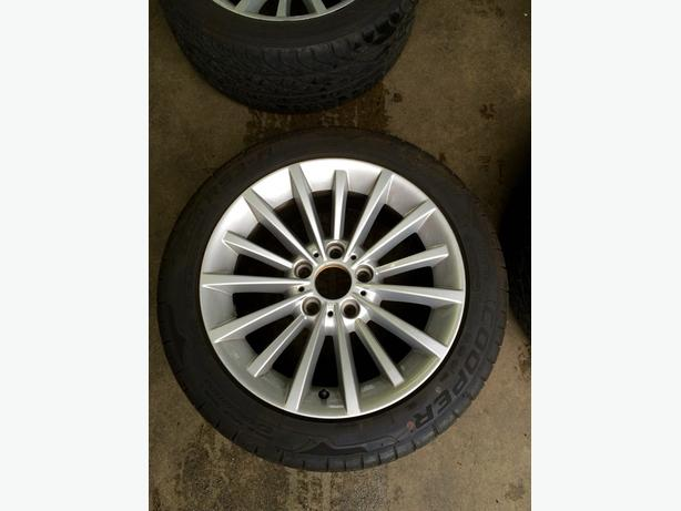 BMW E90 R17 rims and tires for sale