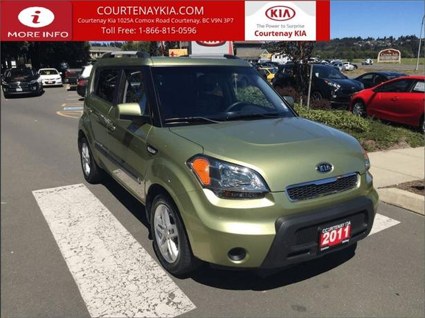 2011 Kia Soul 2u | Low KMS | Island Vehicle