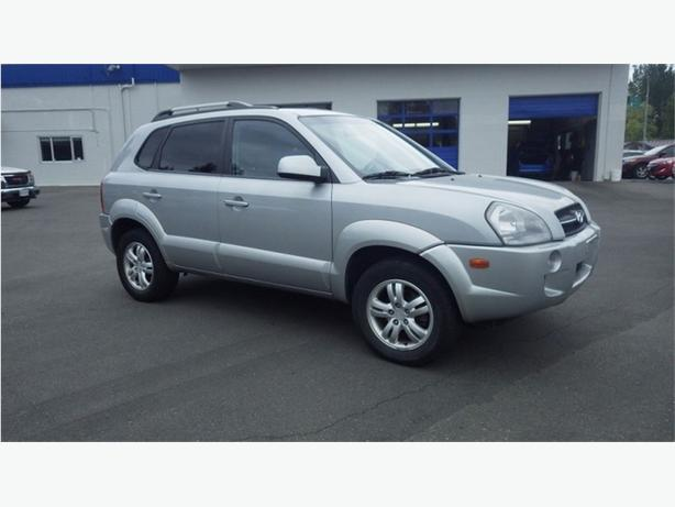 2007 Hyundai Tucson GLS AWD Leather,Sunroof, Power Group, AC
