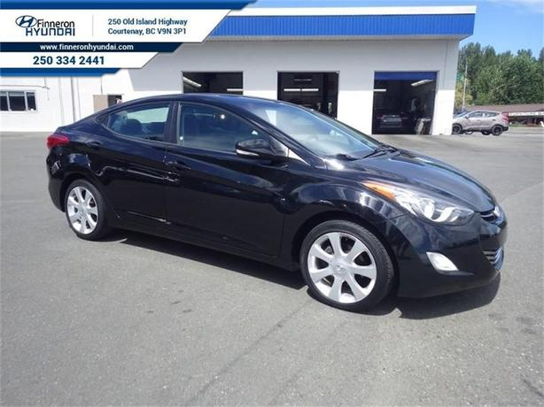 2012 Hyundai Elantra Limited Leather, Sunroof