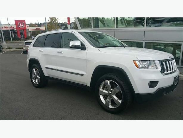 2013 Jeep Grand Cherokee Overland NO ACCIDENTS LOCAL B.C. ONE OWNER