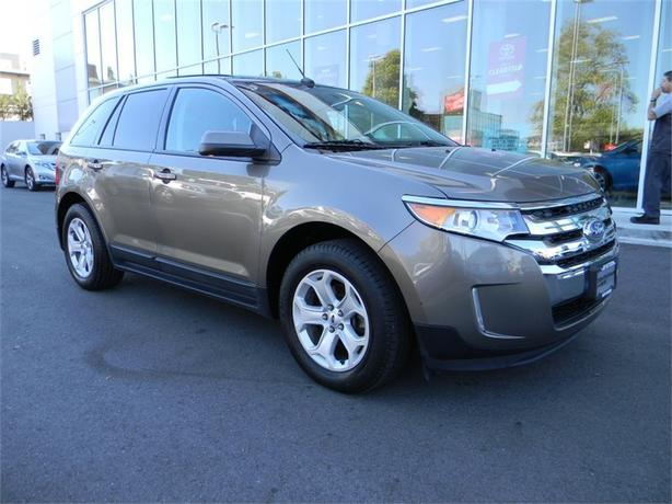 2013 Ford Edge SEL Navigation Leather Sunroof