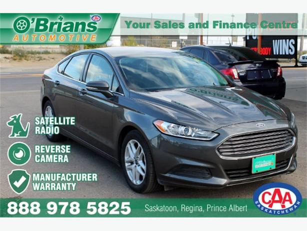 2016 Ford Fusion SE - SIRIUSXM REV CAM MFG WARRANTY!