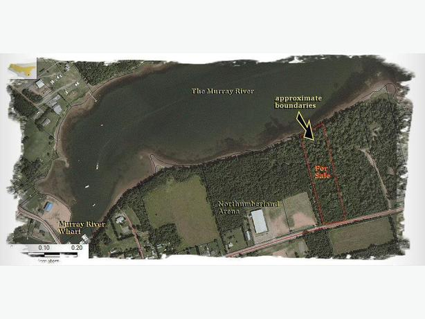 5 Acre Wooded Waterfront, Murray River, PEI