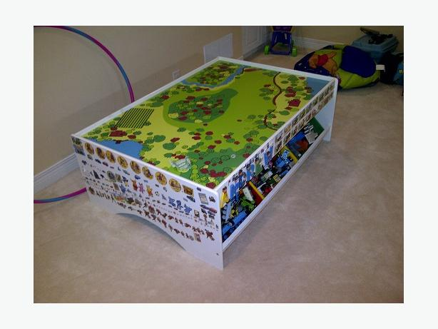 Imagination Train Table