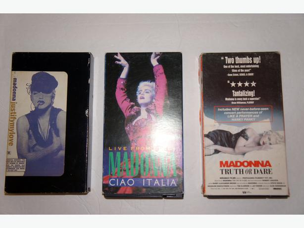 Madonna Intimate Interview - Marilyn Monroe - Six Vintage VHS