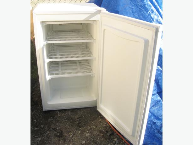 deep freezer smaller apartment size very clean and good