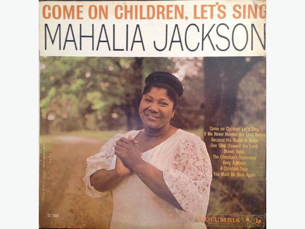 Mahalia Jackson LPs - 1960 to 1963