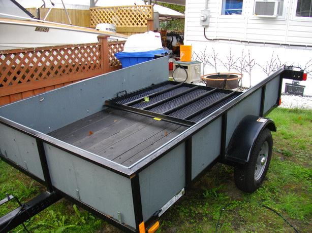 5ft x 8ft utilty trailer