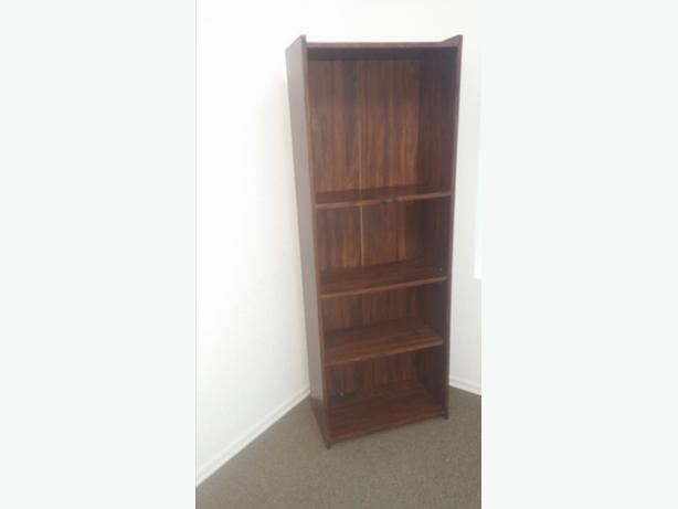 HEAVY DUTY BOOK SHELVE WITH ADJUSTABLE SHELVES/SMALLER FOR SPACE
