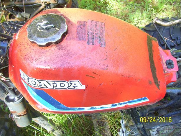 Honda 200 185 ATc gas tank fuel tank 3 wheeler