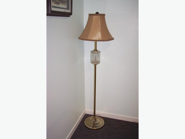 Floor Lamp with beautiful shade
