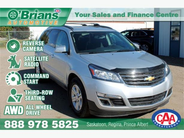 2014 Chevrolet Traverse LT w/1LT - AWD 7PASS CMD START